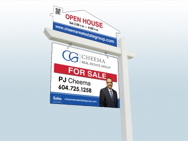 Real Estate For Sale Sign Design by Cheryl Redick