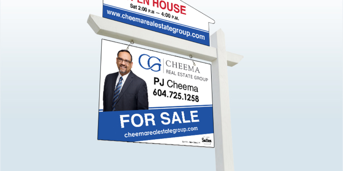 Real Estate For Sale Sign Design by C