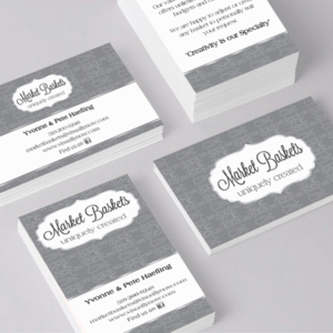Business Card designed by Cheryl Redick