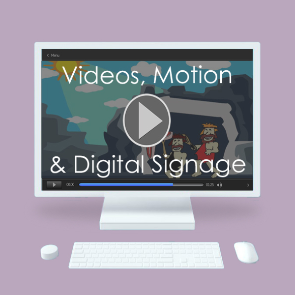 Motion Graphics, Video and Digital Signage by Cheryl Redick